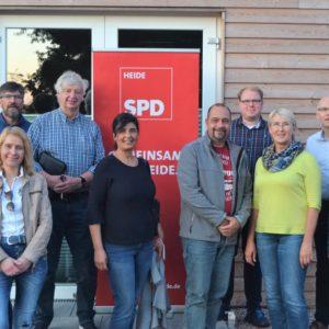 OV-Vorstand der SPD-Heide
