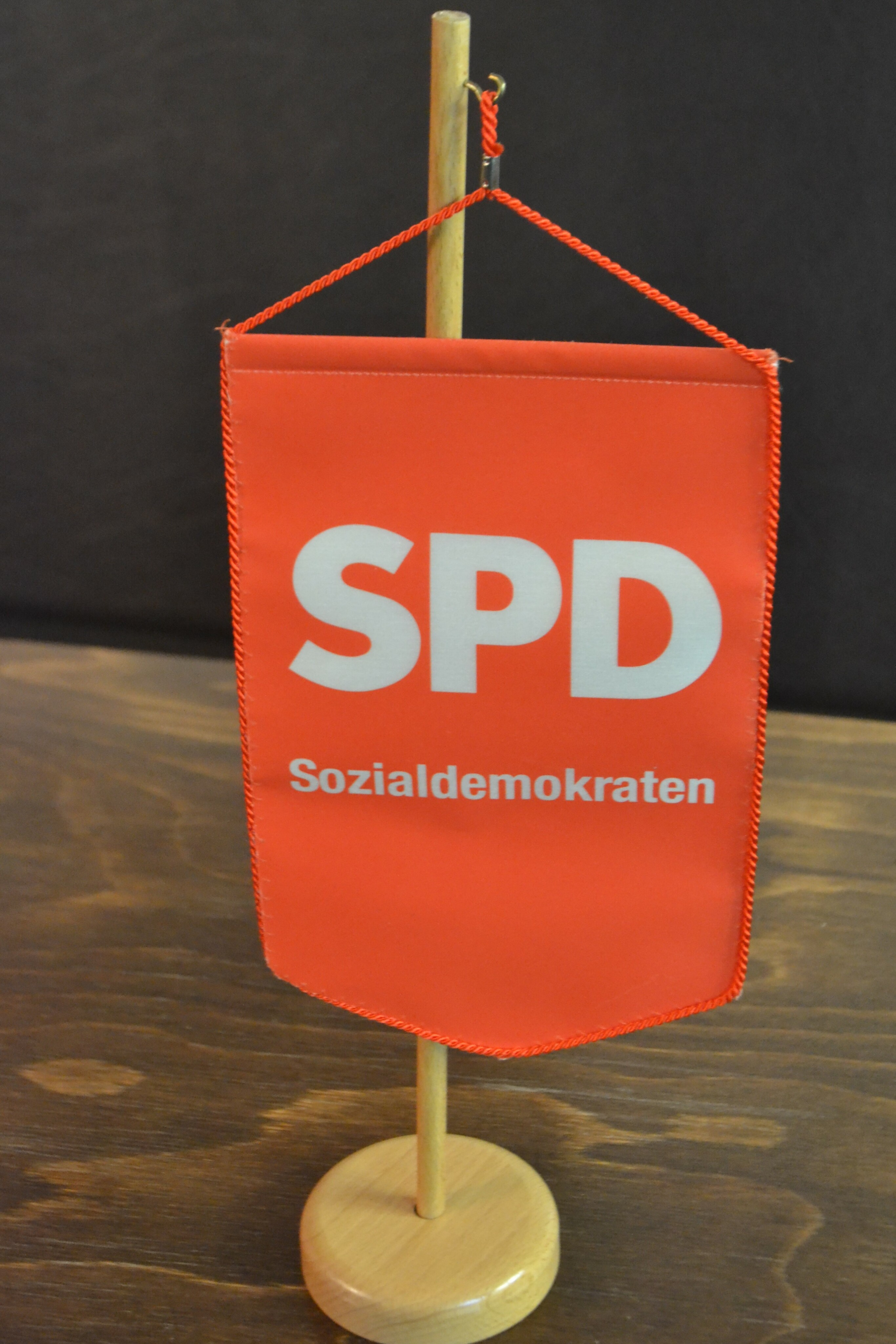SPD-Stammtisch-Wimpel